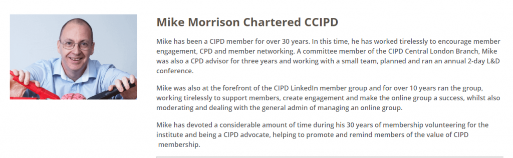 Mike Morrison Chartered CCIPD