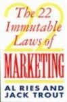 Book - 22 Laws of Marketing